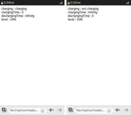 Battery Status: Checking the Battery Status