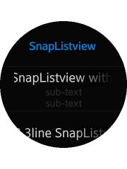 Creating Snap Lists