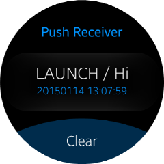 Push Message Launch
