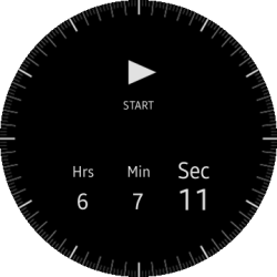 (Circle) Rotary Timer main views