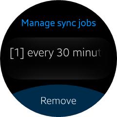 Foreach Sync Jobs