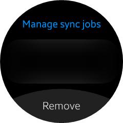 Removing sync jobs