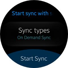 On Demand Sync