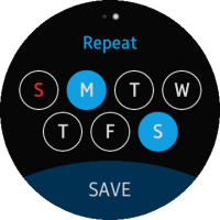 Toggle event for repeat button