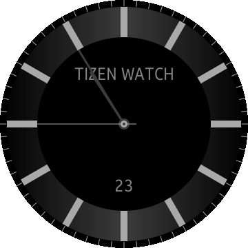 Canvas Watch screen