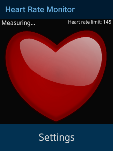 Heart Rate Monitor screens