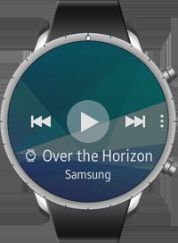 Music Player screen