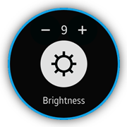 Brightness screen