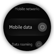 Mobile networks screens