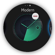 Watch faces screens