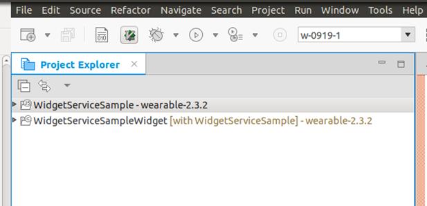 Widget Service