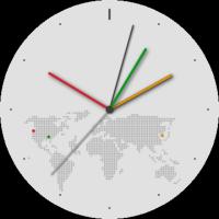 World Clock screens