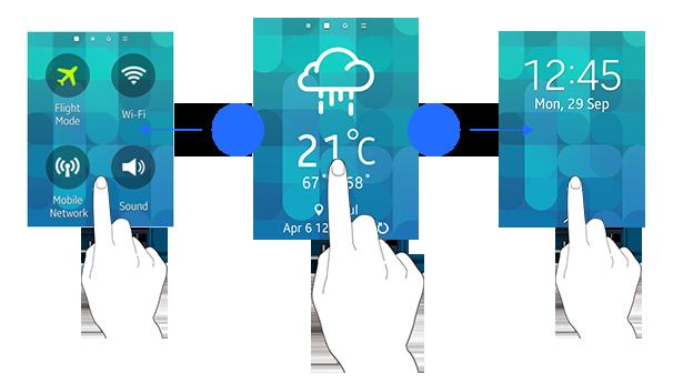 Gestures | Tizen Developers