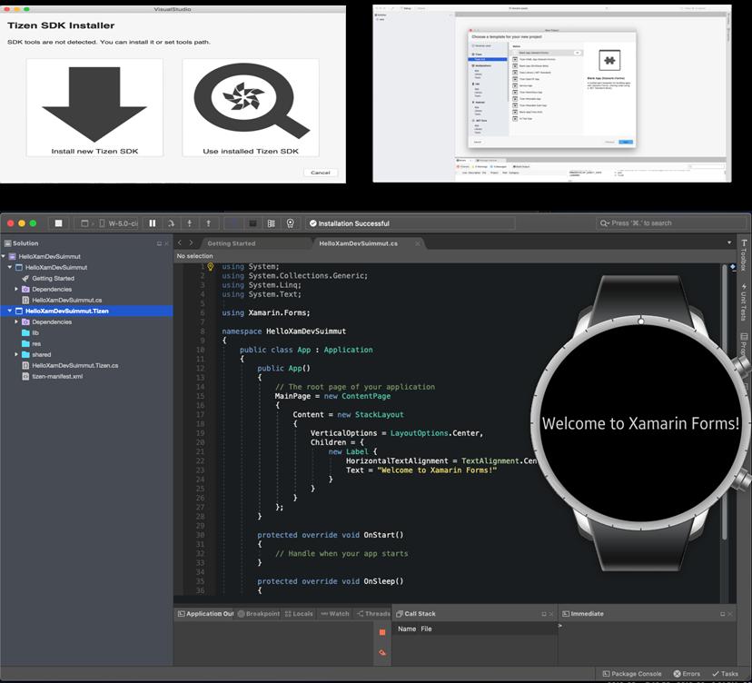 Wearable Emulator with Visual Studio