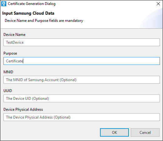 Setting up the SmartThings Cloud | Tizen Developers