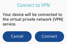 Connecting VPN