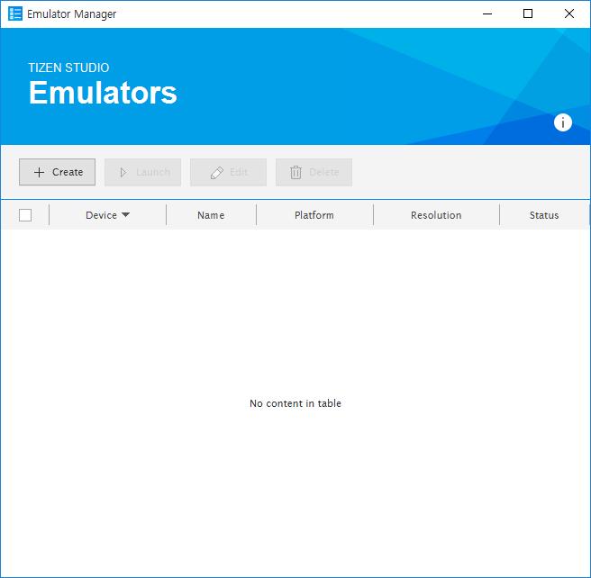 Creating an emulator instance