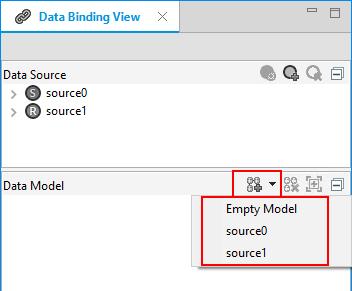 Adding a data model