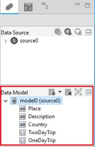 Expanding the data model