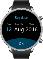 Datetime component