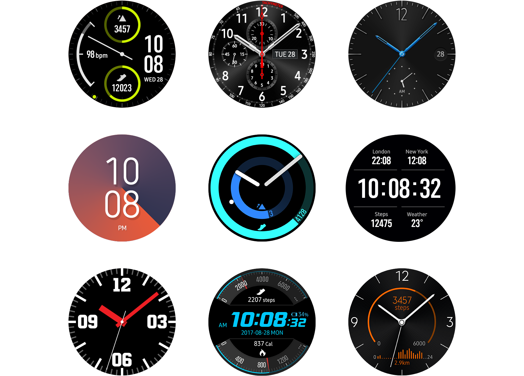 Watch Face | Tizen Developers