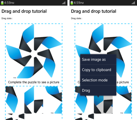 HTML5 Drag and Drop | Tizen Developers