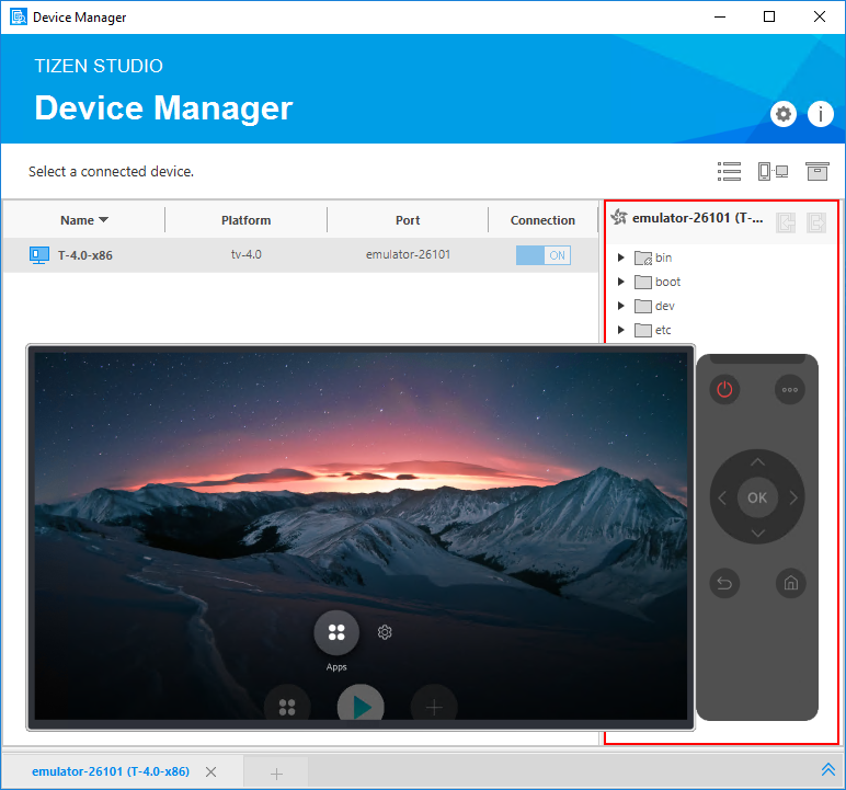 Create Your First Tizen TV Web Application | Tizen Developers
