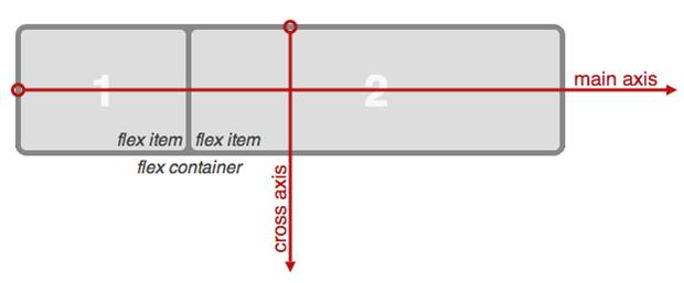 Flex container terminology