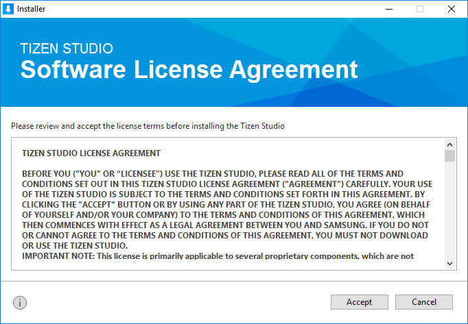 Installing Tizen Studio | Tizen Developers
