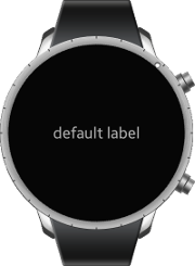 Label component