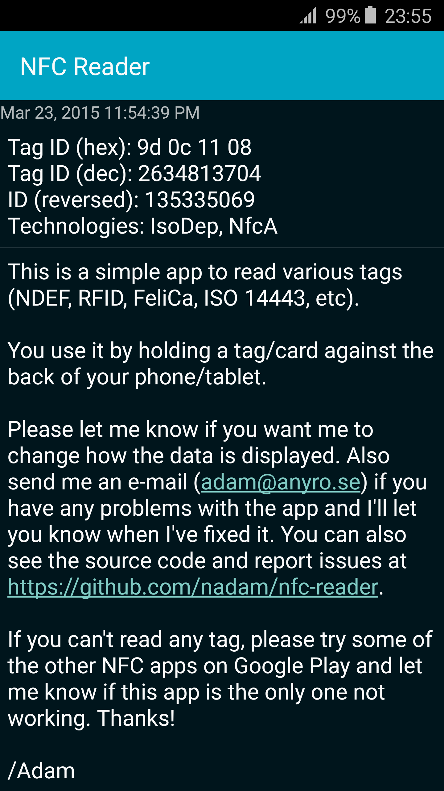 Tizen NFC Card Emulation Mode | Tizen Developers