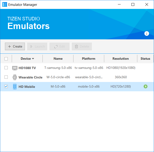 Emulator Manager and ECP