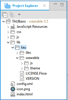 TAU library directory