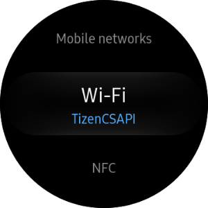 Select Wi-Fi AP