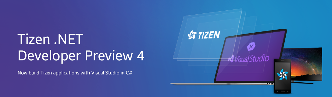 Tizen .NET Preview 4