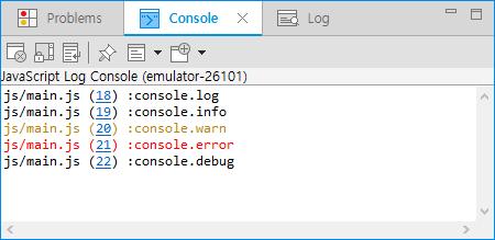 JavaScript log method colors