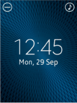 Watch Face with system icons