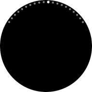 Circular page indicator