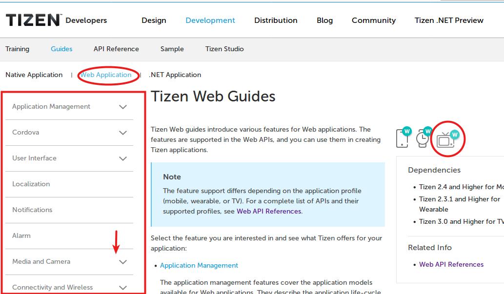 Starting new Application for Smart TV | Tizen Developers