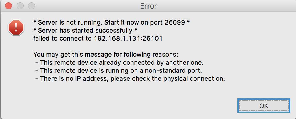 Tizen IDE 2 0 macOs High Sierra Remote Device Connection Problem