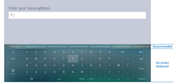 Samsung IME keyboard